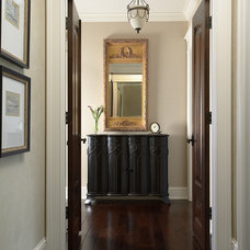 Traditional Hall by Martha O'Hara Interiors
