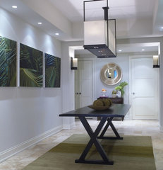 contemporary hall by DWD, Inc.