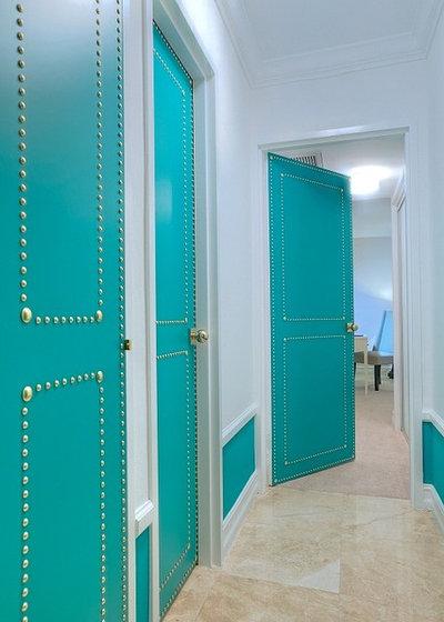Eclectic Corridor by DKOR Interiors Inc.- Interior Designers Miami, FL