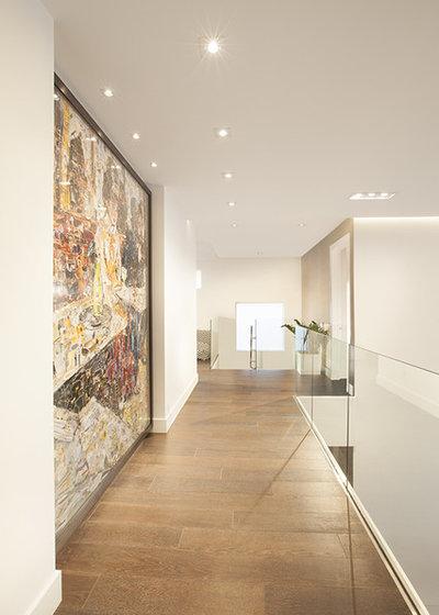 Contemporary Hall by DKOR Interiors Inc.- Interior Designers Miami, FL