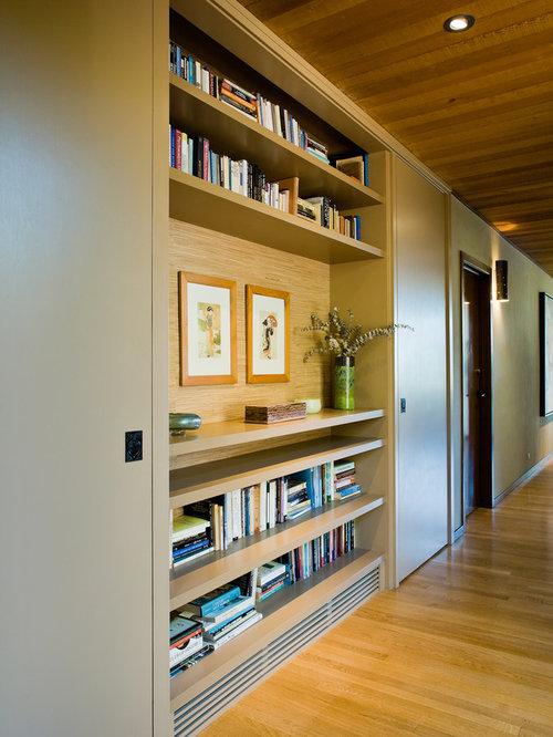 Couloir moderne photos et id es d co de couloirs - Repeindre un couloir sombre ...