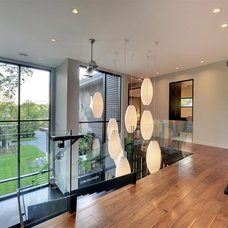 Contemporary Hall by Turnquist Design