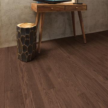"""Mirage Hardwood Flooring - 3-1/4"""" Red Oak Brushed Knowlton"""