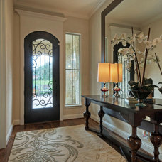 Traditional Hall by Linfield Design Associates