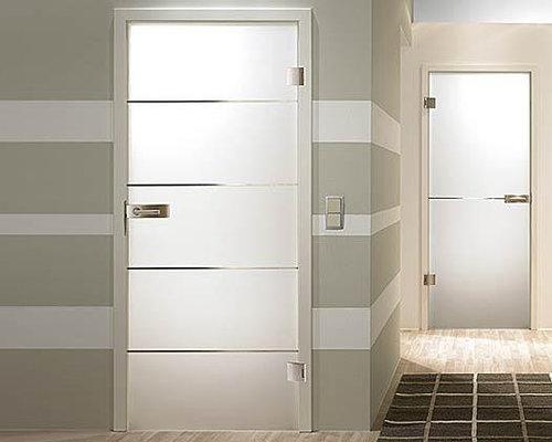 Flush interior doors houzz example of a minimalist hallway design in miami planetlyrics Images