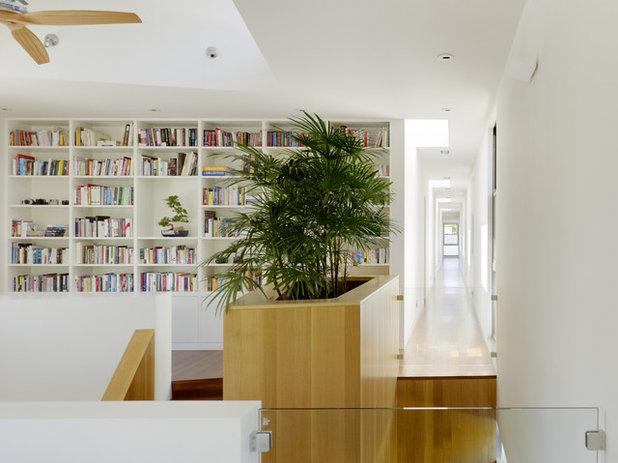 Contemporary Hallway & Landing Modern Hall
