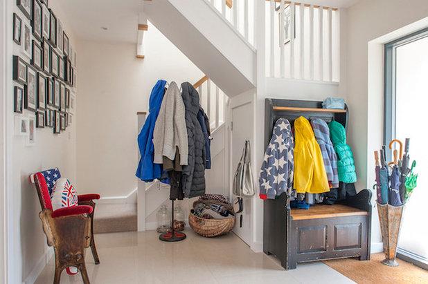 Modern Hallway & Landing by Jenny Branson - Design for Living