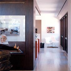 Modern Hall by W.A. Bentz Construction, Inc.