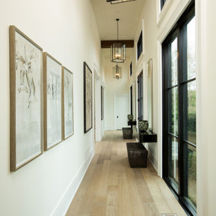 Inspiration for a country hallway remodel in DC Metro