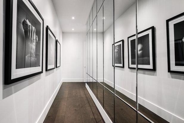 Modern Hallway & Landing by John McClain Design
