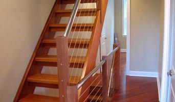 Modern stairs & railing