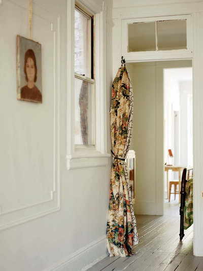 Eclectic Hallway & Landing by Emily Chalmers | Caravan Style Ltd.