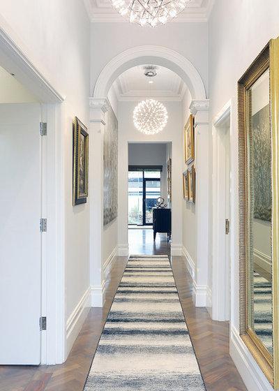 Transitional Hallway & Landing Monee Ponds - Victorian/Federation