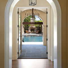 mediterranean entry by V Fine Homes