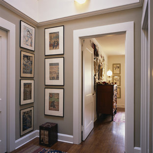 Inspiration for an arts and crafts hallway in Seattle.
