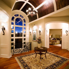 Traditional Hall by McKinley Masters Custom Homes