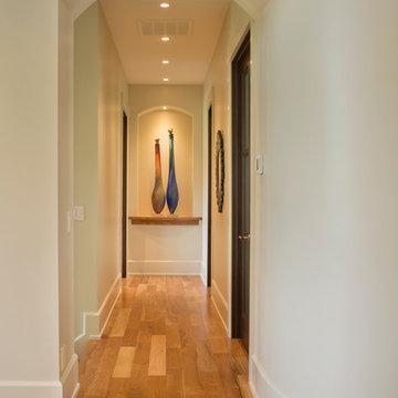 Mountain Contemporary Custom Home - Hallway