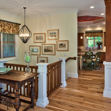 Traditional Hall by Dianne Davant and Associates