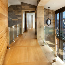 Contemporary Hall by Morgante Wilson Architects