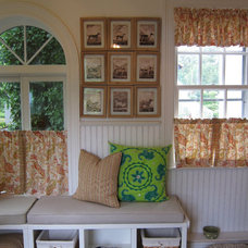Eclectic  by Anne Tarasoff Interiors