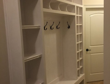 Mud Room Built In Cabinetry