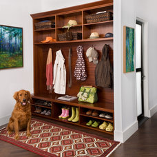 Traditional Hall by transFORM | The Art of Custom Storage