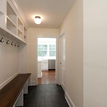 Mudroom hallway
