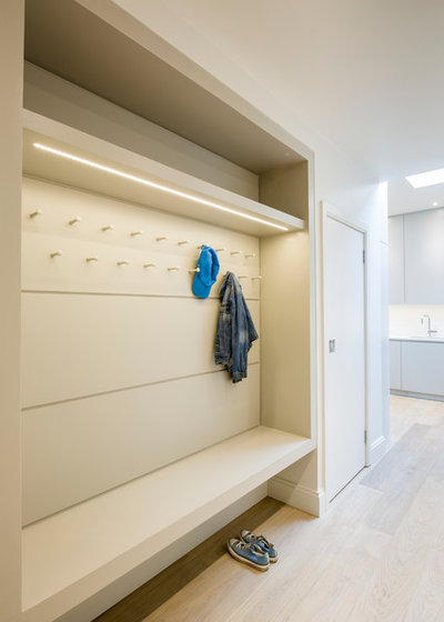 Contemporary Hallway & Landing by Jones Associates Architects