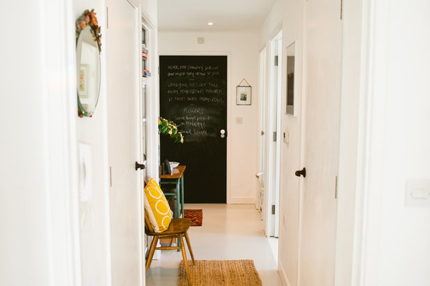 Scandinavian Hallway & Landing by Apartment Apothecary