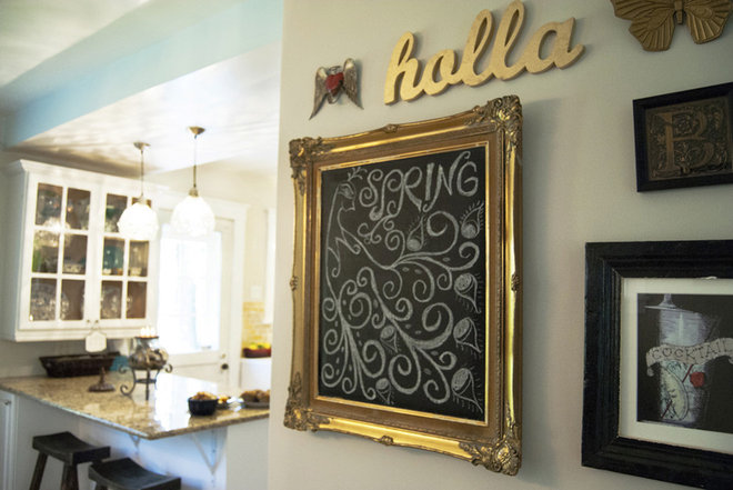 Eclectic Hall by Adrienne DeRosa