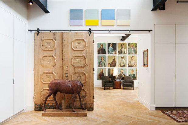 Contemporary Corridor by Adrienne DeRosa