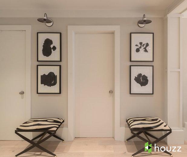 Clásico renovado Recibidor y pasillo by Breeze Giannasio Interiors