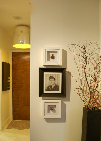 Contemporary Hall by Heather Merenda
