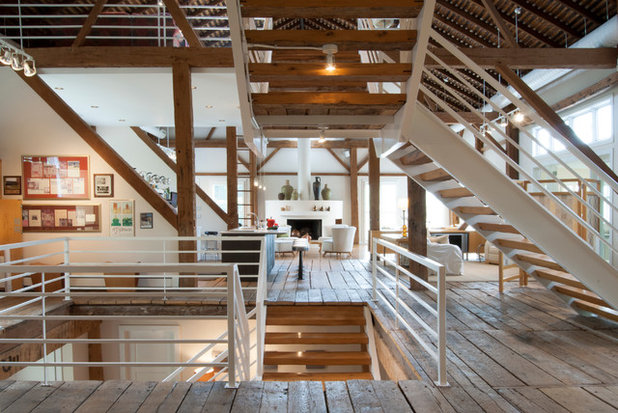 My Houzz Rustic Meets Refined In A Converted Ohio Barn