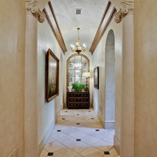 Mediterranean Hall by Rosewood Custom Builders