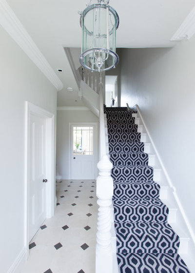 Victorian Hallway & Landing by Hughes Developments