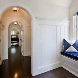 Inspiration for a timeless hallway remodel in Boston