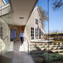 contemporary hall by Remick Associates Architects + Master Builders
