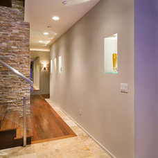 Modern Hall by Phil Kean Design Group