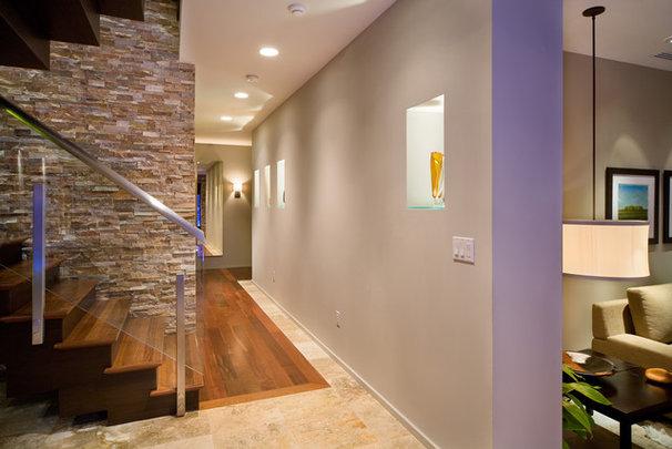 Modern Hall by Phil Kean Design Group