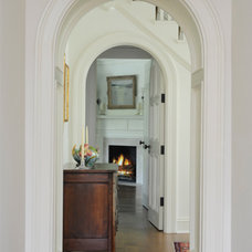 Eclectic Hall by shelley morris interiors