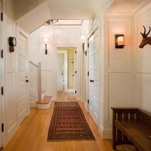 Design ideas for a beach style hallway in Providence.