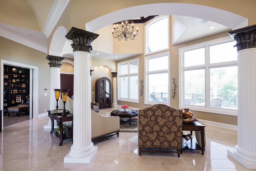 New Home Featuring the Craftsmanship and Design work By McCartney Improvement Co