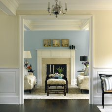 Traditional Family Room by Scott Sanders LLC