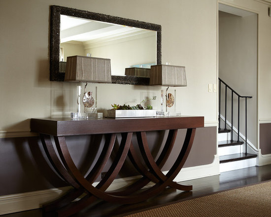 Slimline Hall Console Tables display console table | houzz