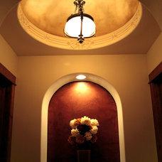 Mediterranean Hall by Asomoza Homes - Design Build