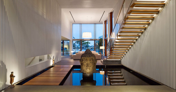 Contemporary Hallway & Landing by Greg Shand Architects
