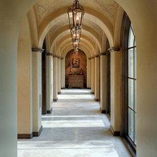 Traditional Hall by Bravo Interior Design