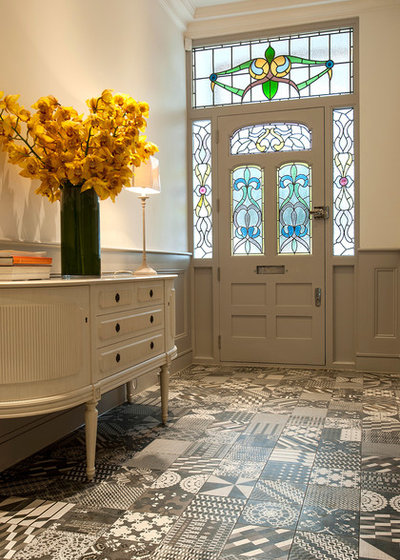 Contemporary Hallway & Landing by Surface Tiles