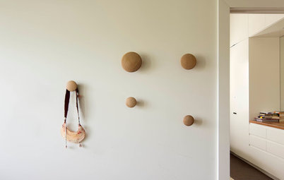 5 Ways to Free Up Floor Space With the Magic of Hooks